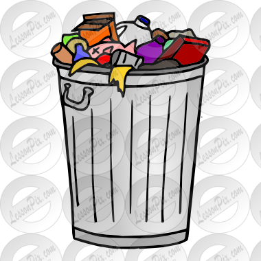Trash clipart in a classroom banner download Garbage Picture for Classroom / Therapy Use - Great Garbage Clipart ... banner download
