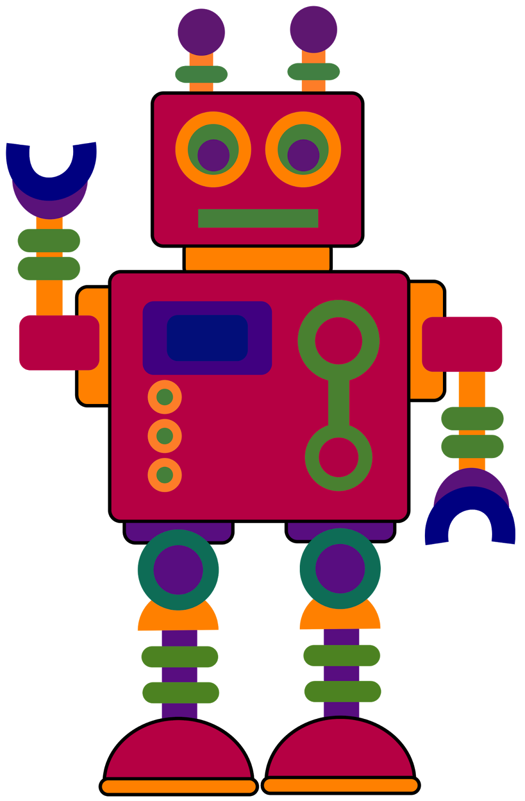 Robot car clipart graphic free stock Classroom Treasures: Clip Art | Applique for my grandson | Pinterest ... graphic free stock