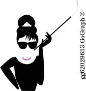 Vogue clipart white picture black and white library Classy Clip Art - Royalty Free - GoGraph picture black and white library
