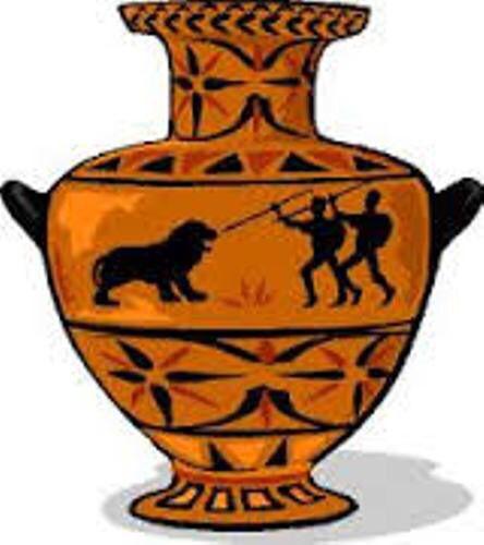 Clay vase border clipart transparent stock Pin by Brandon Zuniga on Greek Vases   Greek pottery, Vase shapes, Vase transparent stock