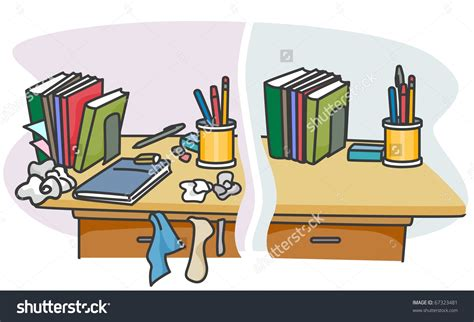 Tidy desk clipart graphic royalty free download Clean Desk Clip Art - Falcones graphic royalty free download