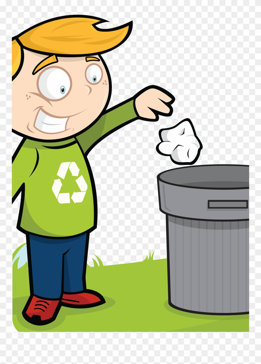 Healthy habits clipart clipart free download Cleanliness Child Throwing Trash Good Habits - Clean And Healthy ... clipart free download