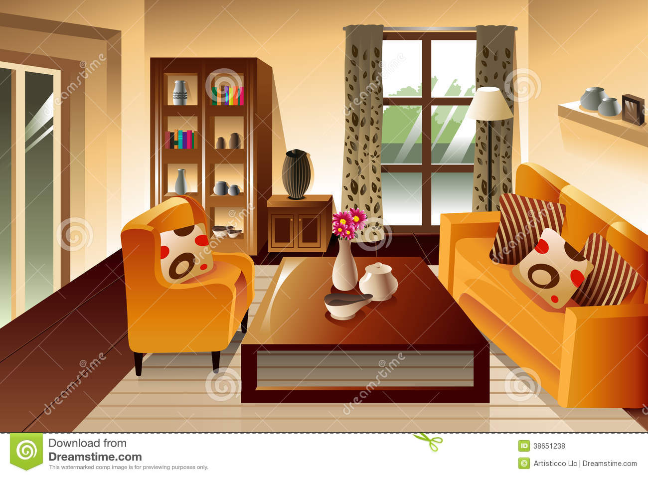 Clean living room clipart image freeuse stock Clean Living Room Clipart (91+ images in Collection) Page 2 image freeuse stock