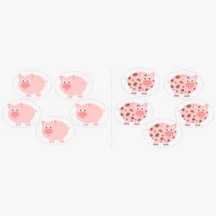 Clean pig clipart banner black and white download Clip Art Freeuse Stock Dirty Pigs Clipart - Clean Pig Dirty Pig ... banner black and white download