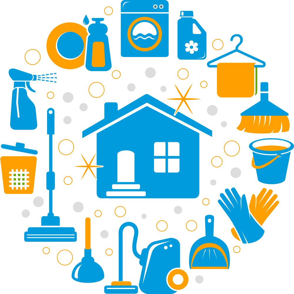 House keeping clipart graphic black and white download We are providing a Residential Cleaning , housekeeping, Household ... graphic black and white download