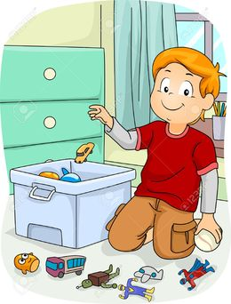 Clean toys clipart banner free stock Clean Toys Cliparts - Making-The-Web.com banner free stock