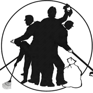 Clean up crew clipart image royalty free library The Clean Up Crew on Twitter: \