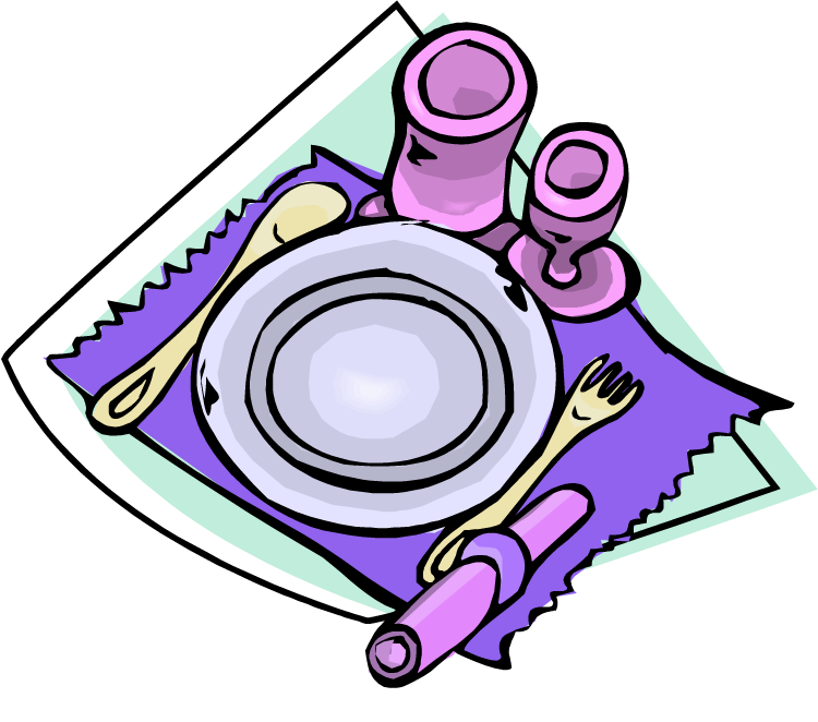 Setting cliparts png freeuse Clip Art Dinner Table Setting Clipart Clipart Suggest - Free Clipart png freeuse