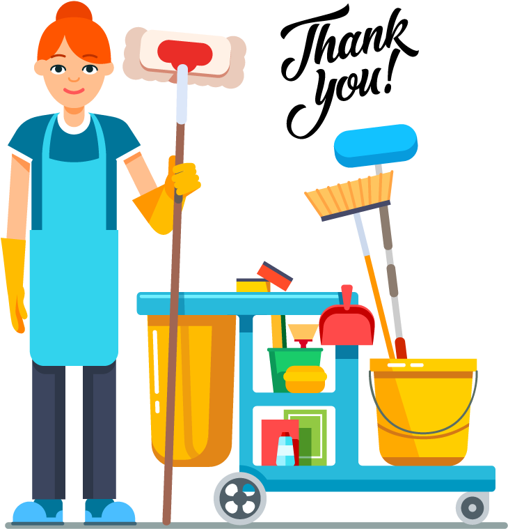 Cleaners clipart vector free library Thank You Yours Bond Cleaning Png Thank You Cleaners Clipart - Full ... vector free library
