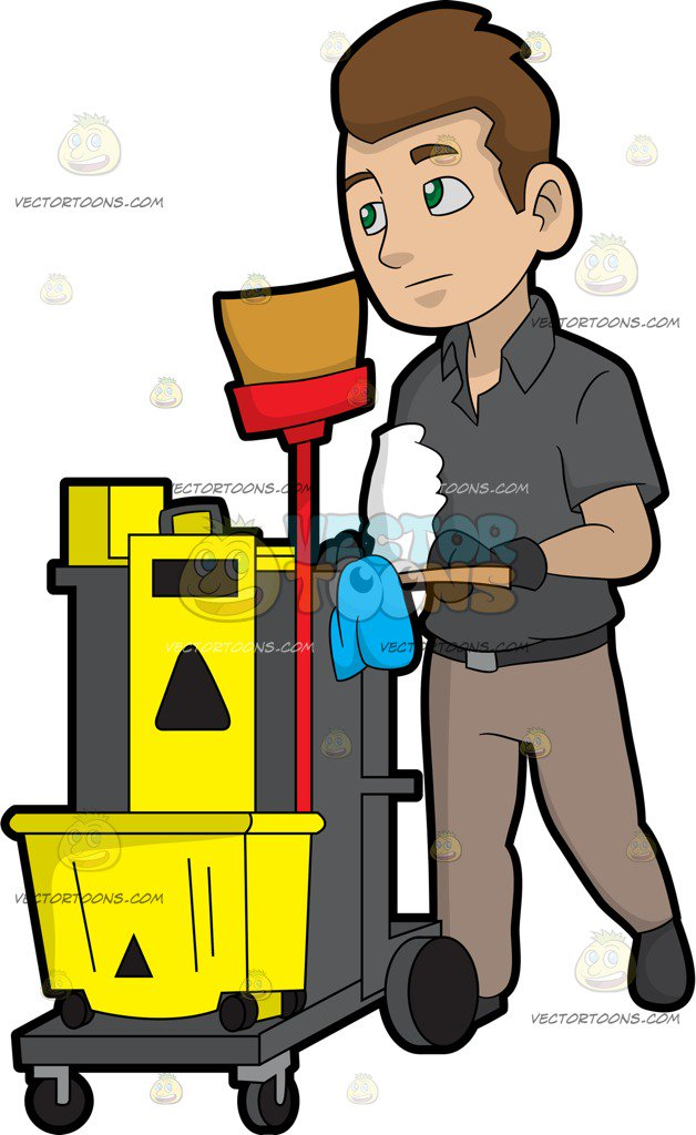 Janitor clipart vector free Custodian Clipart | Free download best Custodian Clipart on ... vector free