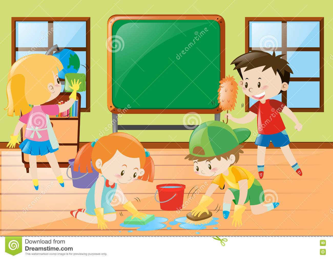 Cleaning classroom clipart clipart free download Cleaning the classroom clipart 1 » Clipart Station clipart free download