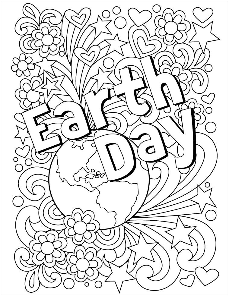Earth day coloring pages clipart svg transparent download Earth Day Coloring Page | YMCA | Earth day coloring pages, Earth day ... svg transparent download