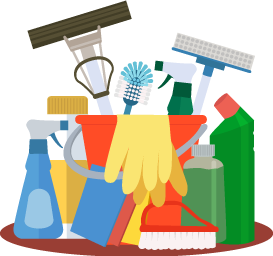 Cleaningsupplies clipart svg transparent library Cleaning Supplies Clipart   Free download best Cleaning Supplies ... svg transparent library