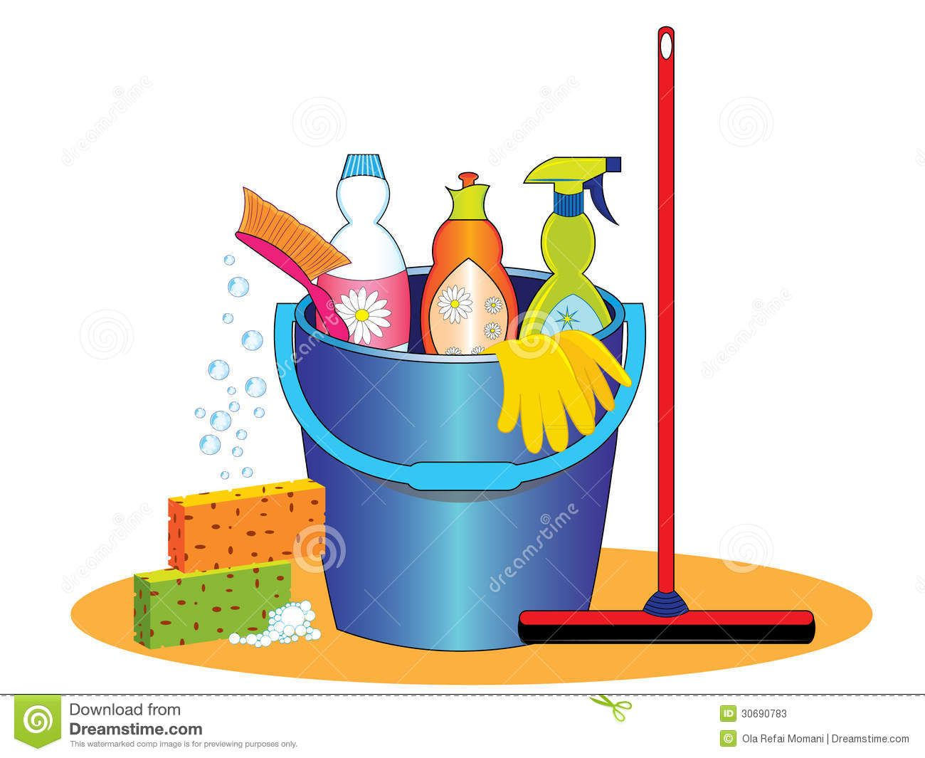 Janitorial supplies clipart image library library Cleaning Supplies Clip Art Cleaning products clipart | First Then ... image library library