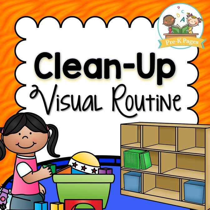 Cleaning up preschool clipart svg download Clean Up Visual Routine | PRESCHOOL BACK TO SCHOOL IDEAS | Classroom ... svg download