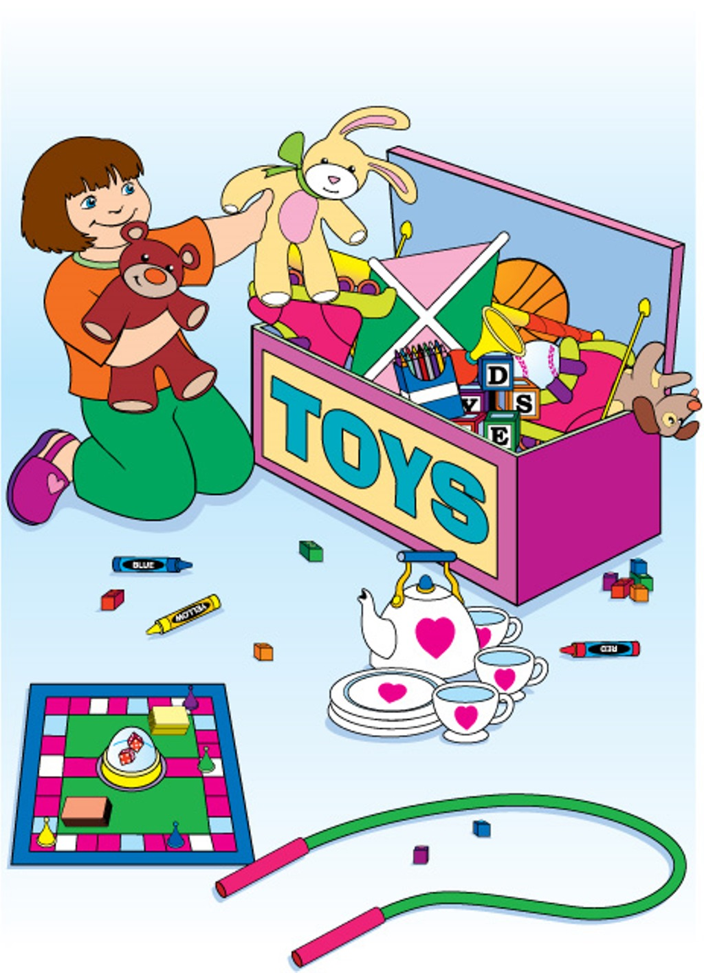Cleaning with kids clipart svg free stock Kids cleaning up clipart - ClipartFest svg free stock