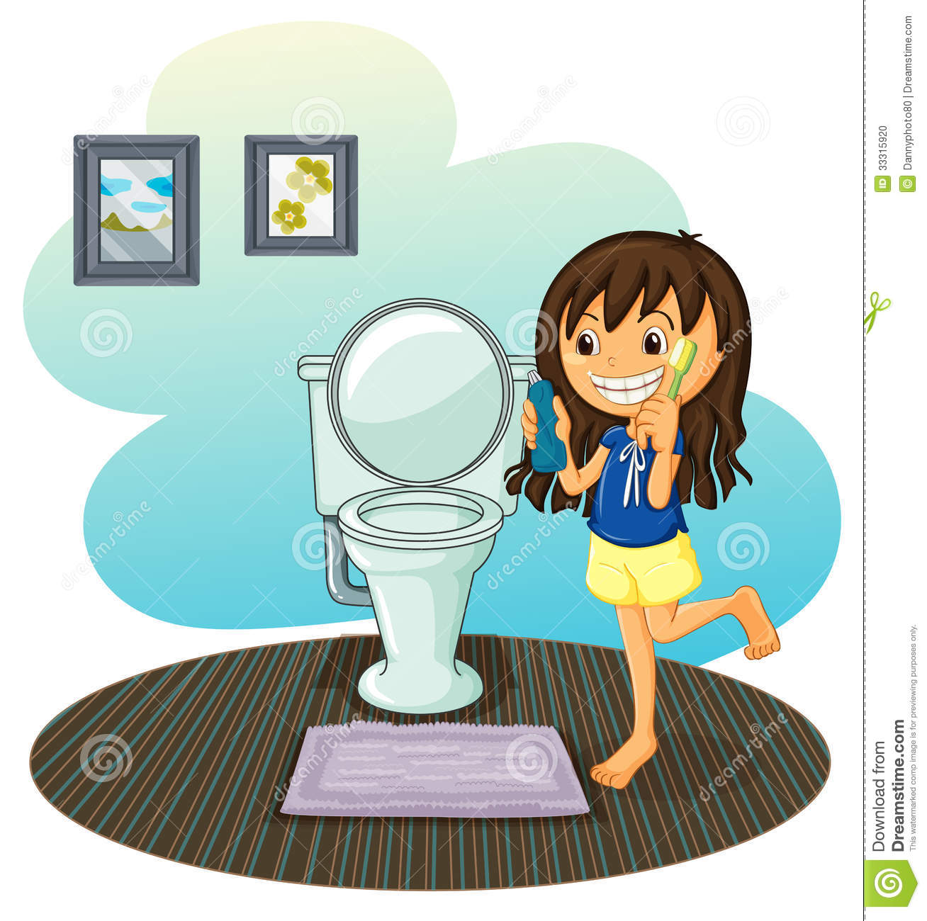 Cleaning with kids clipart svg royalty free download Kids Cleaning Bathroom Clipart | Clipart Panda - Free Clipart Images svg royalty free download