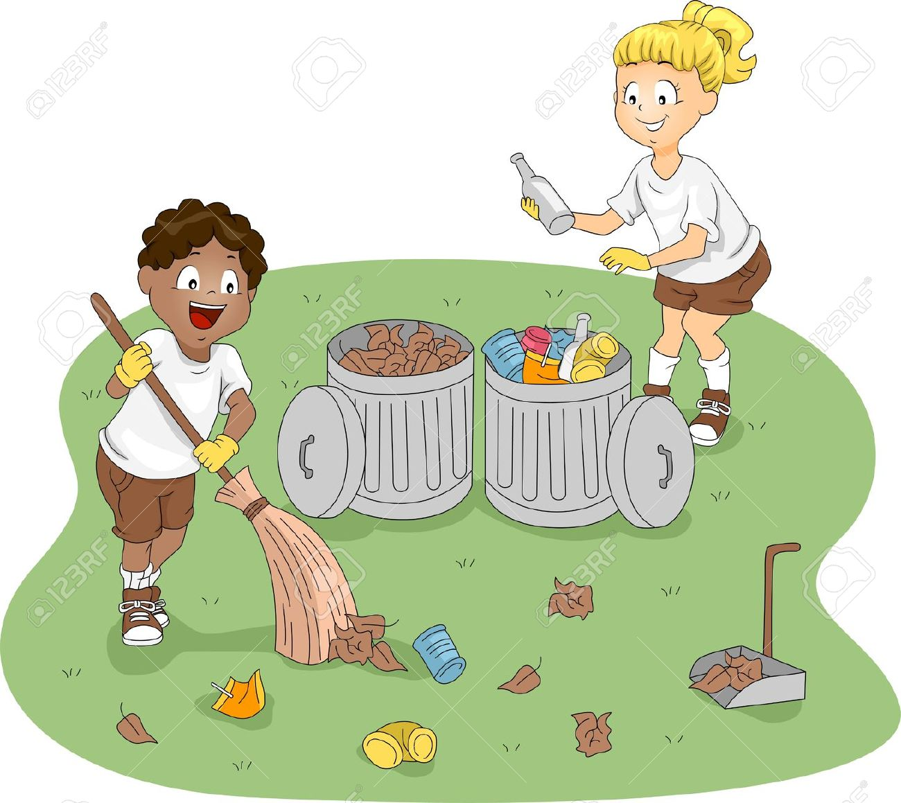Cleaning with kids clipart image Children cleaning clipart - ClipartFest image