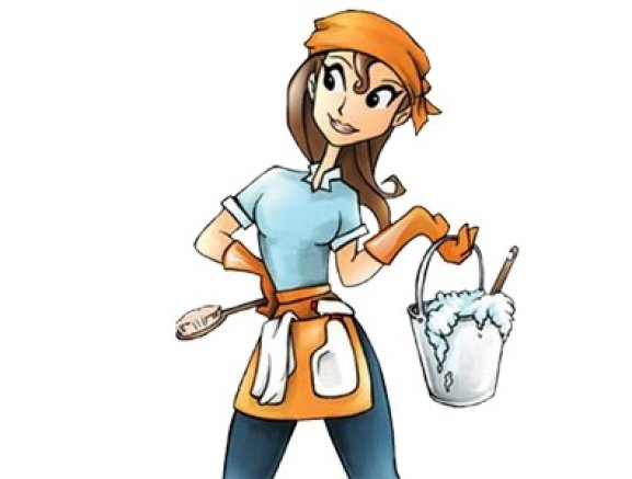Cleaning woman clipart jpg library stock Cleaning Lady Clipart | Free download best Cleaning Lady Clipart on ... jpg library stock