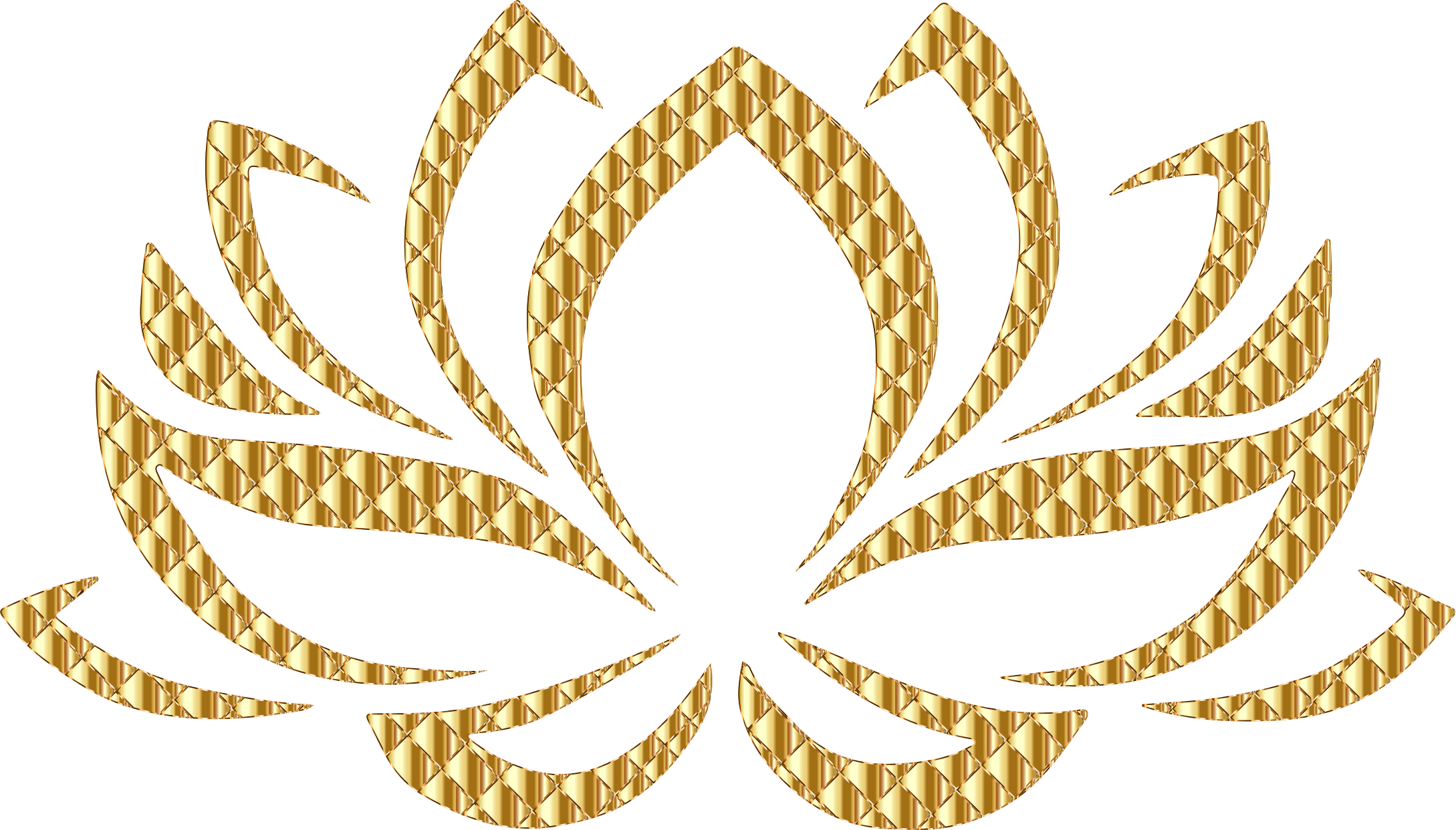 Flower transparent background clipart banner free Clipart - Golden Lotus Flower No Background banner free