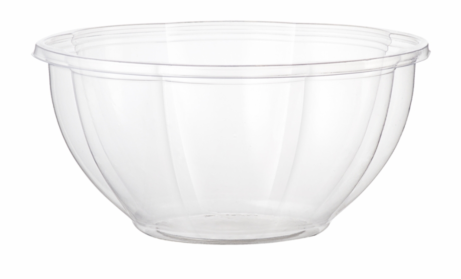 Clear bowl clipart png library stock 32 Oz Salad Bowl, Clear - Bowl Free PNG Images & Clipart Download ... png library stock