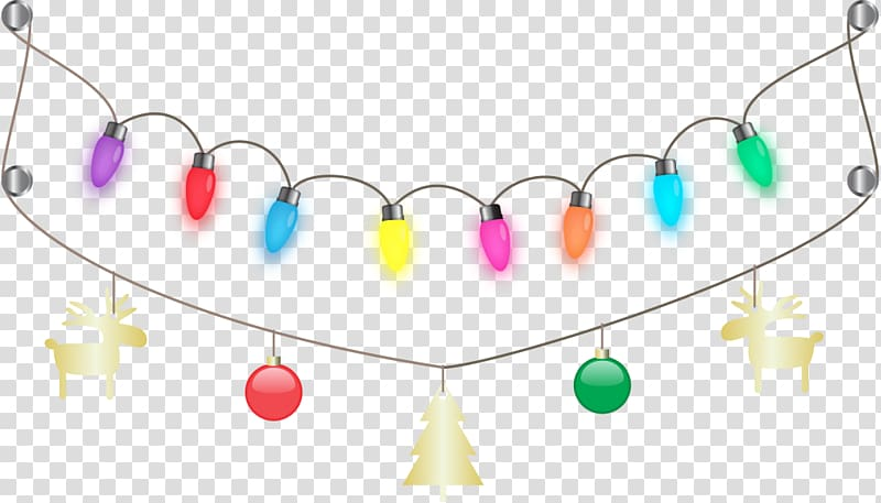 Clear christmas lights clipart clipart freeuse download Christmas lights , String Lights transparent background PNG clipart ... clipart freeuse download