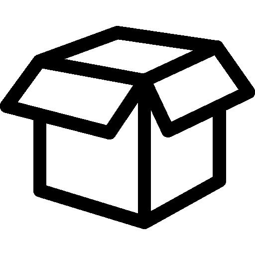 Clear empty box clipart clip transparent download Empty white box Icons | Free Download clip transparent download