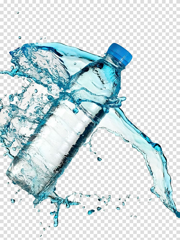 Clear water clipart clip royalty free Clear water bottle with water splash , mineral water transparent ... clip royalty free