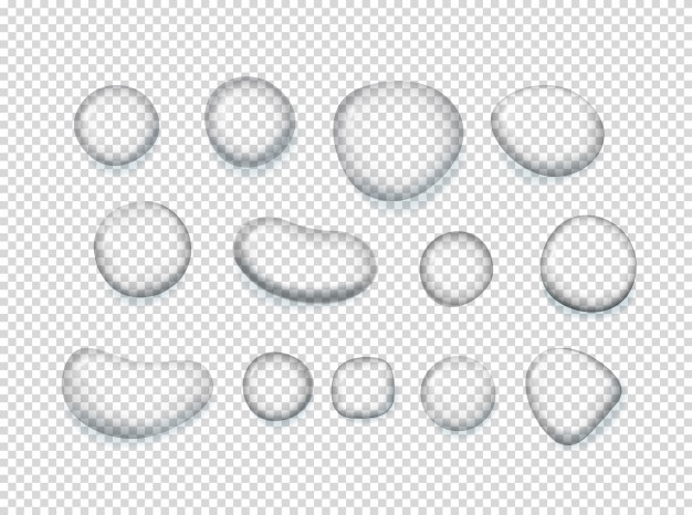 Clear water clipart banner royalty free library Clear water drops clipart. Vector | Premium Download banner royalty free library
