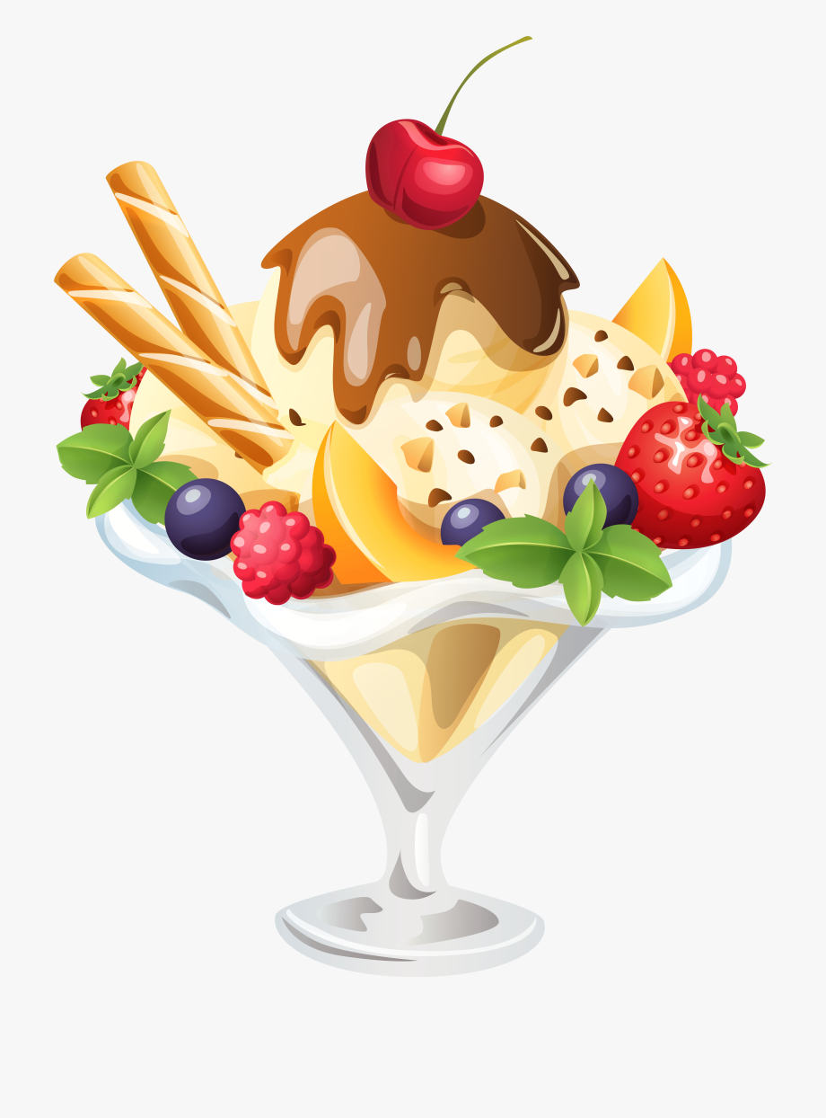 Clearice cream topping clipart svg free download Ice Cream Sundae Png Clipart Image - Ice Cream Sundae Png #1189545 ... svg free download
