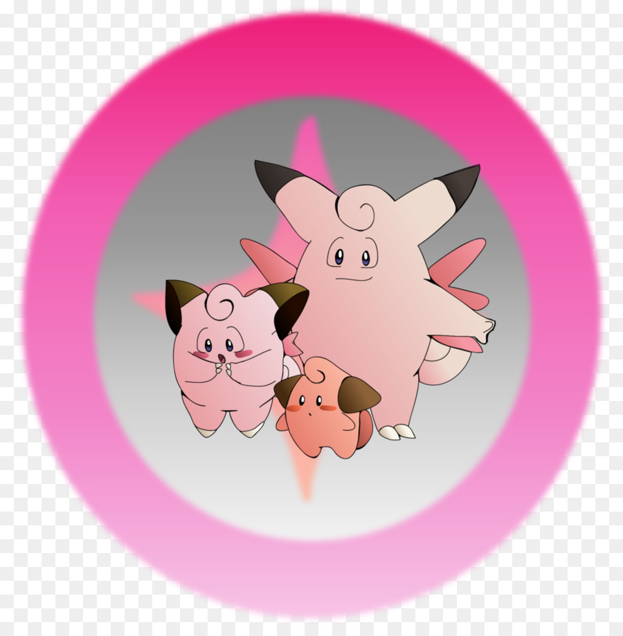 Clefairy clipart image black and white download Pig Cartoon clipart - Pig, May, Pink, transparent clip art image black and white download