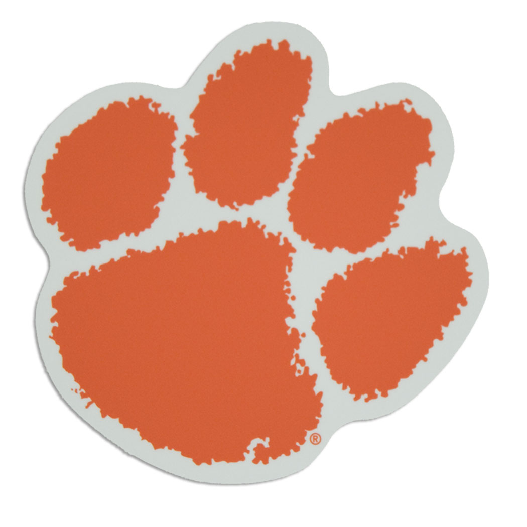 Clemson paw clipart banner freeuse Free Clemson Tiger Paw Stencil, Download Free Clip Art, Free Clip ... banner freeuse