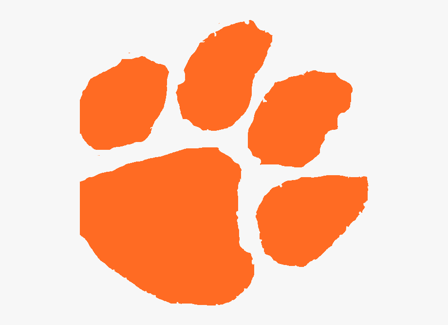 Clemson clipart vector transparent library Clemson Tiger Paw #2466356 - Free Cliparts on ClipartWiki vector transparent library