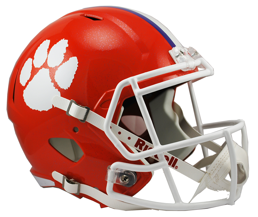 Clemson football clipart clipart freeuse Clemson Speed Replica Helmet clipart freeuse