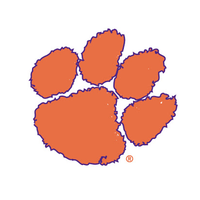 Clemson paw clipart banner free library clemson tiger paw clip art - Honey & Denim banner free library