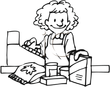 Clerk clipart black and white picture free library Clerk clipart black and white - ClipartFest picture free library