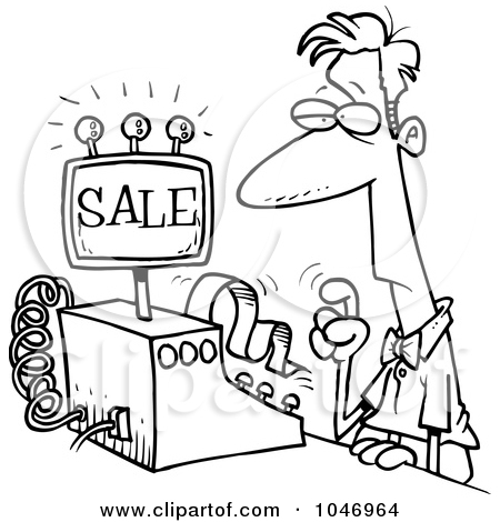 Clerk clipart black and white clip art black and white download Royalty-Free (RF) Clerk Clipart, Illustrations, Vector Graphics #1 clip art black and white download