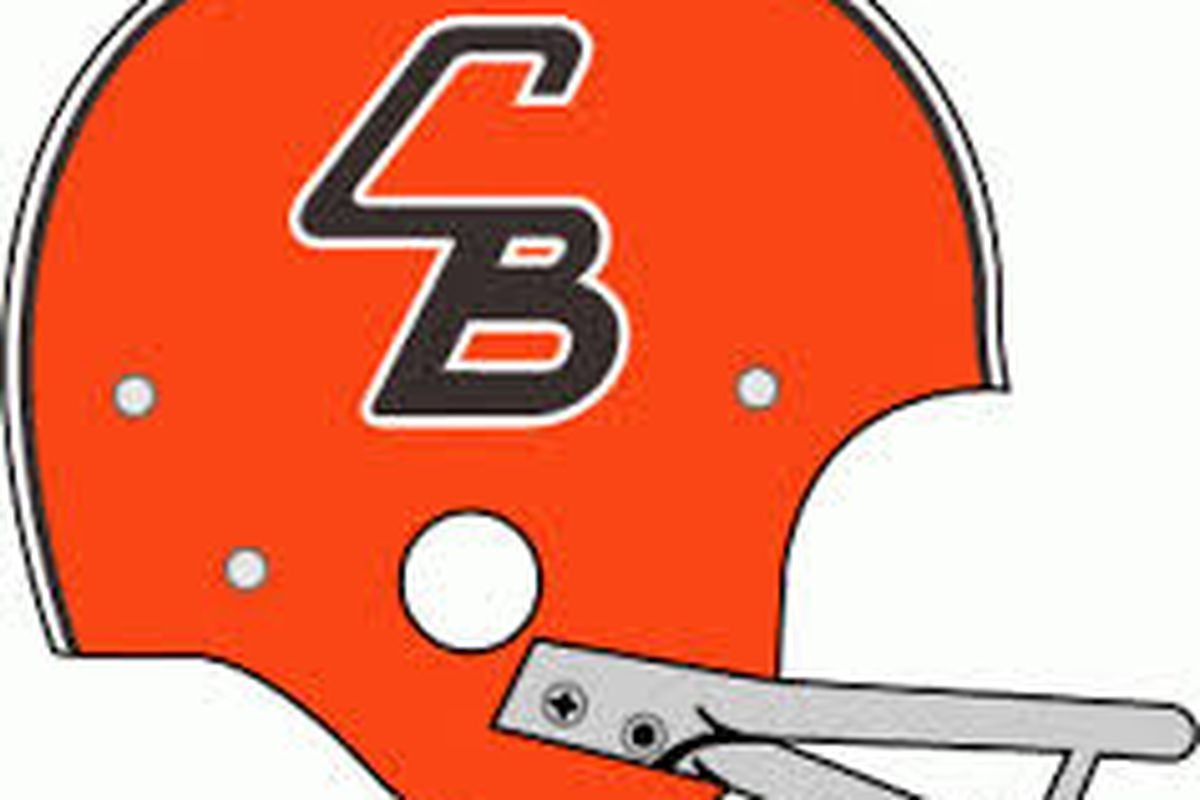 """Cleveland browns helmet black and white clipart vector The Phantom 1965 """"CB"""" Helmet of the Cleveland Browns - Dawgs By Nature vector"""