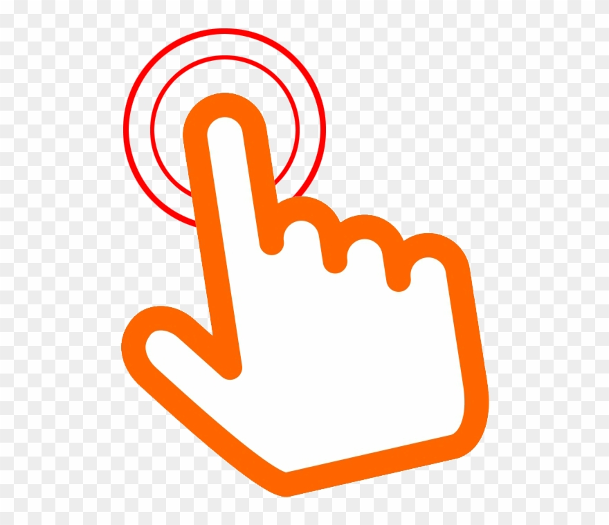 Here clipart image freeuse download Here Clipart Hand Pointer - Click Here Hand Icon Png Transparent Png ... image freeuse download