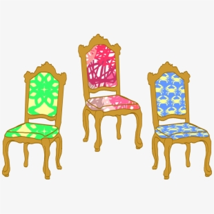 Clid pushing in chair to table clipart image black and white library Free Chairs Clipart Cliparts, Silhouettes, Cartoons Free Download ... image black and white library