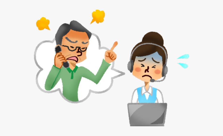 Cliente clipart banner freeuse stock Anger Clipart Complainer - Cliente Enojado Call Center #1138058 ... banner freeuse stock