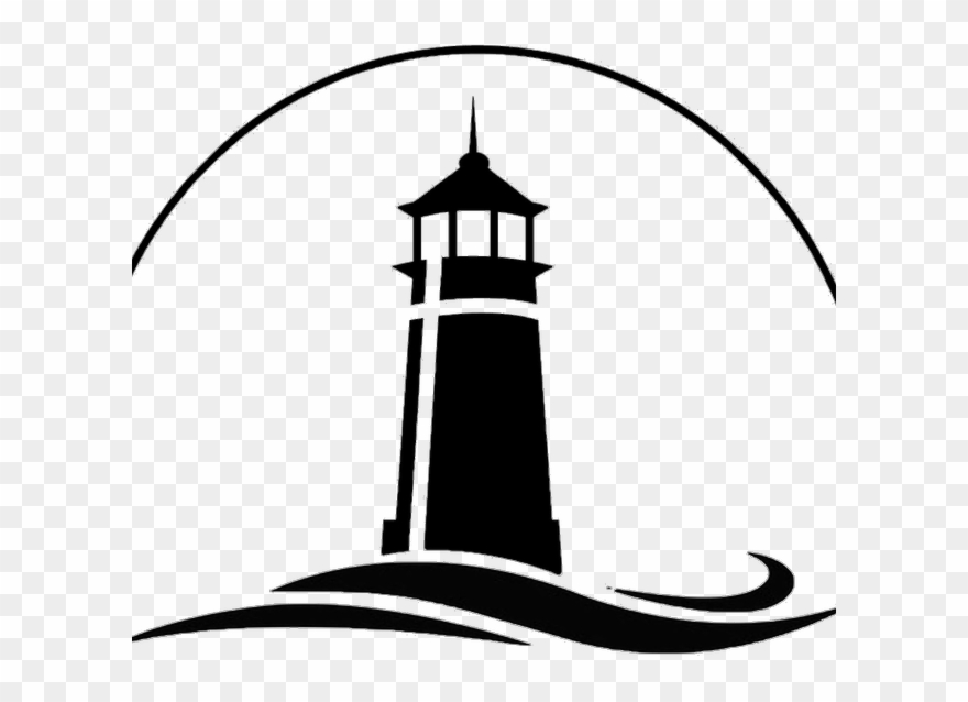 Lighthouse with waves clipart black and white clip download Cliff Clipart Lighthouse - Lighthouse Clipart Black And White - Png ... clip download