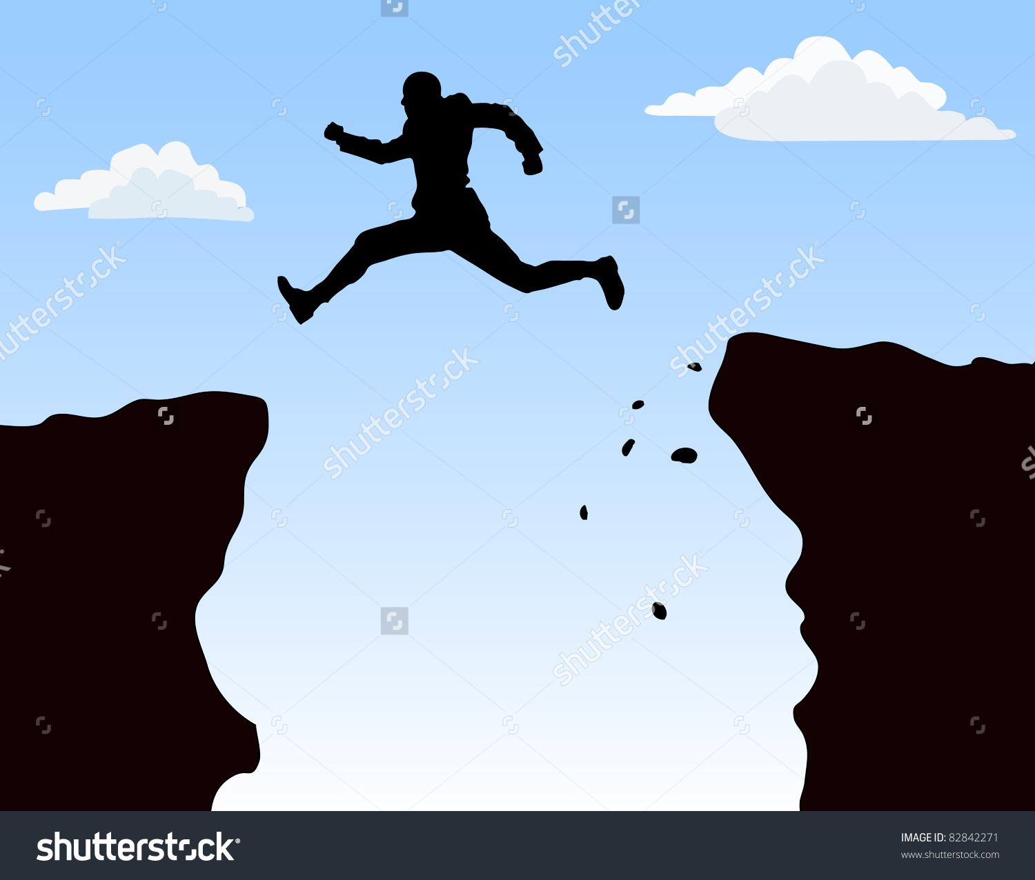 Cliff diving clipart png royalty free download OnlineLabels Clip Art - Man Jumping Cliff #88721 - Clipartimage.com png royalty free download