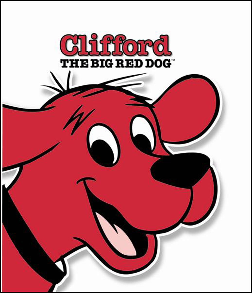 Clifford the dog clipart vector library library Clifford Clipart - Cliparts and Others Art Inspiration vector library library