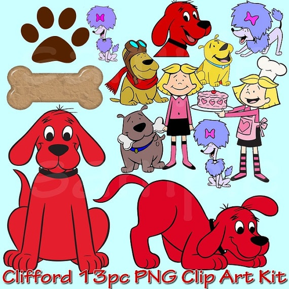 Clifford the dog clipart graphic free stock 17 Best images about Clifford Dog on Pinterest | Birthdays, Lesson ... graphic free stock