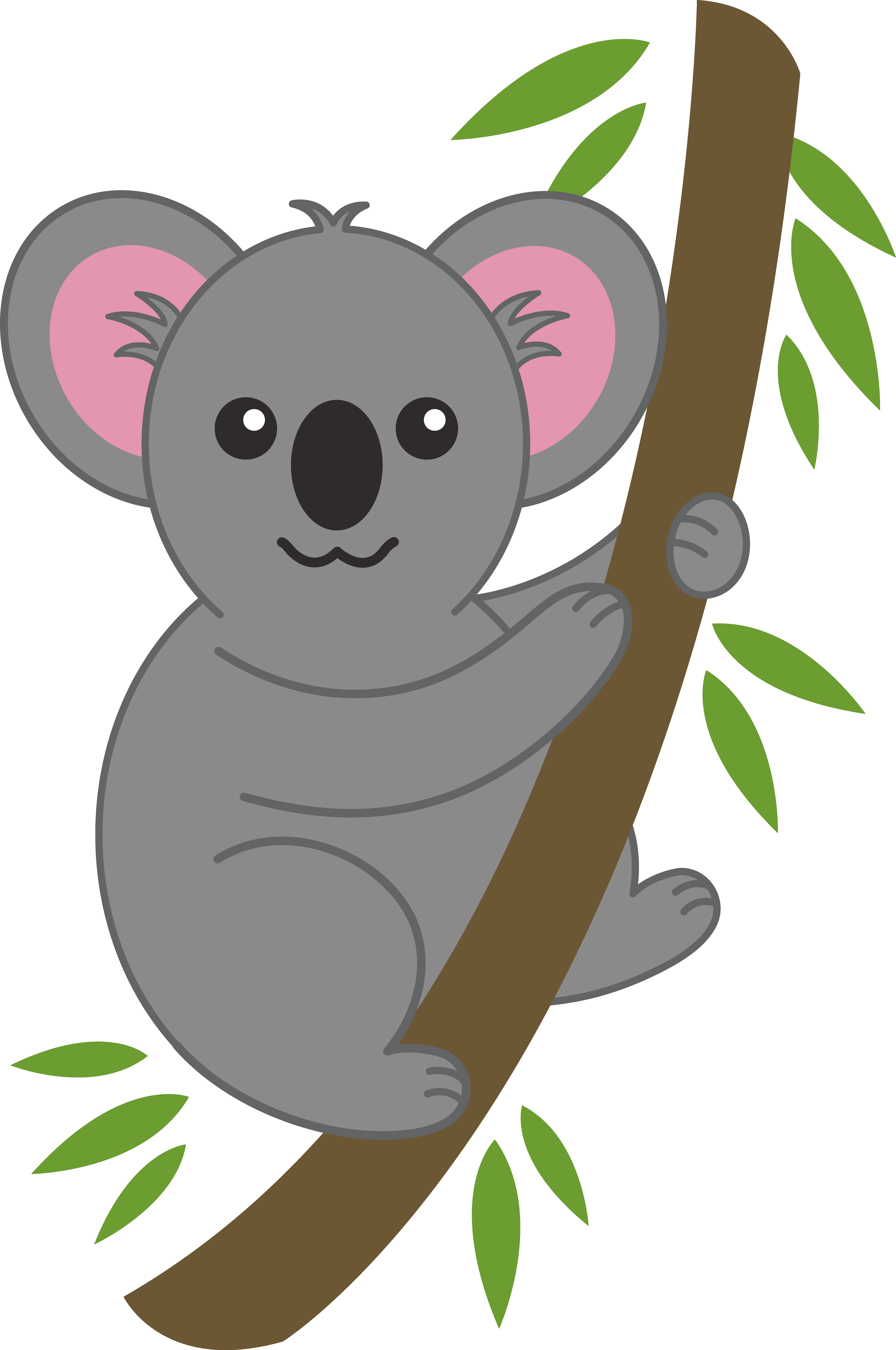 Kola crown clipart clip free 28+ Collection of Koala In A Tree Clipart | High quality, free ... clip free