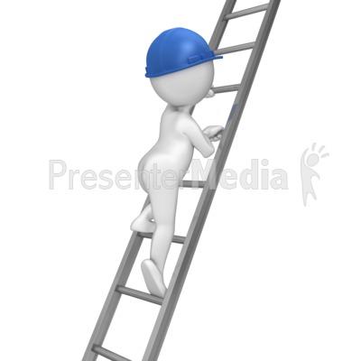 Climb ladder clipart clip Stick Figure Climbing Ladder - Presentation Clipart - Great Clipart ... clip