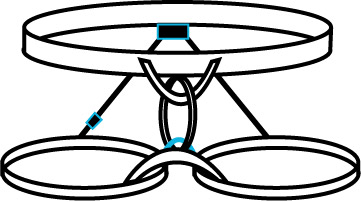 Climbing harness clipart image library Rock Climbing Human Factors – Harness attachment points | the Human ... image library