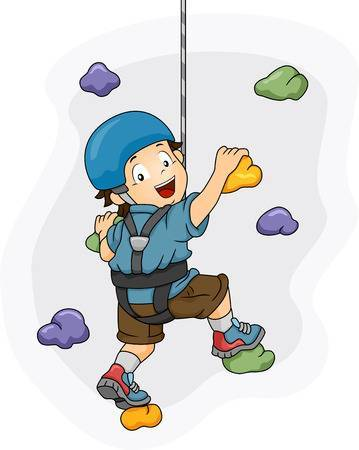 Climbing images clipart black and white Boy climbing clipart » Clipart Portal black and white