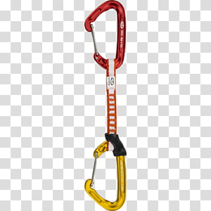 Climbing quickdraw clipart vector free download Carabiner Quickdraw Petzl Rock climbing, others transparent ... vector free download